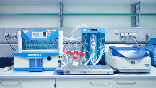 Analytische Entwicklung bei Losan Pharma