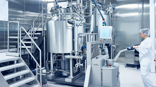 manufacturing liquids at Losan Pharma