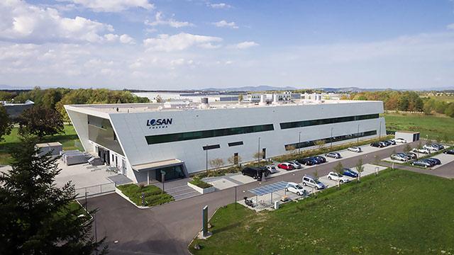 Produktionsgebäude Losan Pharma Eschbach